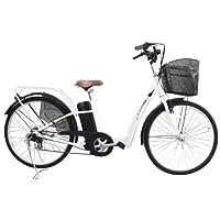 電動自転車 26インチ ホワイト 452assist