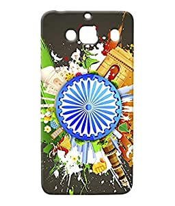 100 Degree Celsius Back Cover for Xiaomi Redmi 2 (Designer Printed Multicolor)