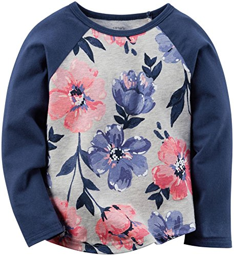Carter's Baby Girls Knit Fashion Top, Print, 18 Months