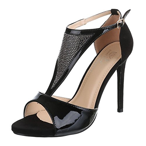 damen schuhe xf93 a sandaletten high heels pumps. Black Bedroom Furniture Sets. Home Design Ideas