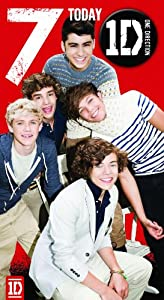 Official One Direction (1D) Birthday Card - Age 7 With Badge from Global Merchandising