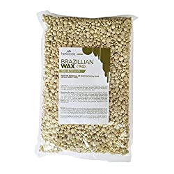 Huini Herbicos Body Hair Remover Hard Wax Beans Creme for all skin types - 35.28 oz / 1000g