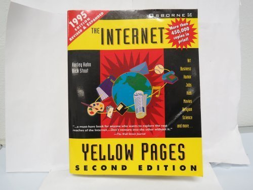 INTERNET YELLOW PAGES (HARLEY HAHN'S INTERNET AND WEB By ...