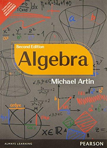 Algebra - Michael Artin - Google Books