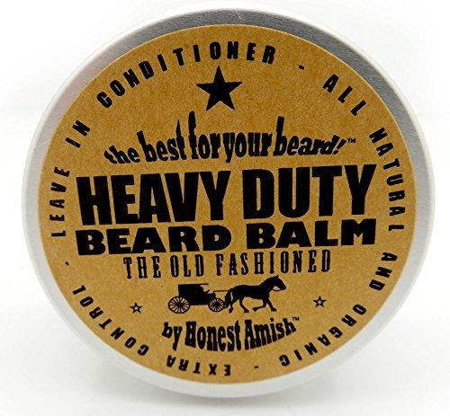 honest amish heavy duty beard balm 2 ounce beard conditioner grow beard fast. Black Bedroom Furniture Sets. Home Design Ideas