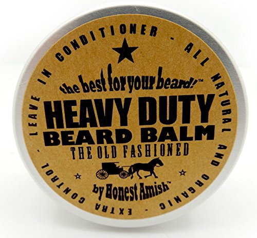 honest amish heavy duty beard balm 2 ounce beard conditioner grow bea. Black Bedroom Furniture Sets. Home Design Ideas