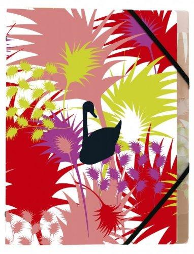 Exacompta - Fournitures, accessoires - Trieur polypropylène 8 compartiments 3 Rabats Fidji Jungle