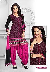 Venisa Cambric Cotton Maroon Color Salwar Suit Dress Material
