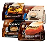 Senseo Bold 4-Flavor Coffee Variety Pack III, 16-to 18-Count Pods (Pack of 4)