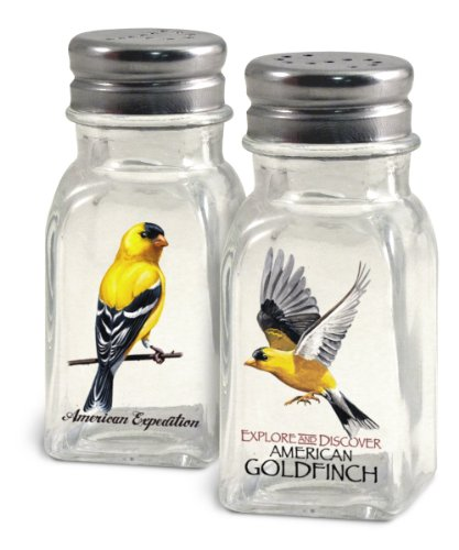 American Expedition Glass Salt and Pepper Shaker Sets (Goldfinch)