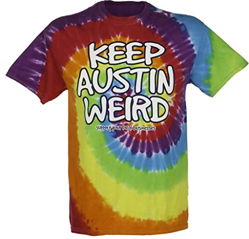 f5fdb7c6 University Co-op Unisex Keep Austin Weird Tie-dye T-shirt By Outhouse  Designs (Small) - Buy Online in Oman. | Apparel Products in Oman - See  Prices, ...