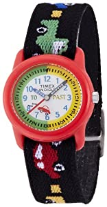 Timex Kids' T71122 Time Teacher Cars and Trucks Stretch Band Watch