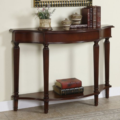 Black friday powell masterpiece console table with 4 for Sofa table cheap
