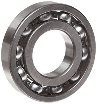 "MRC R12 Small Ball Bearing, Open, No Snap Ring, Inch, 3/4"" ID, 1-5/8"