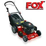 "Fox 20"" QUAD-CUT 4 Blade Cutting System Self Propelled Petrol Lawn Mower - 4 IN 1 FACILITY: MULCHING, COLLECTING, REAR DISCHARGE & SIDE DISCHARGE"