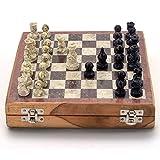 Littlethings4u Real Makrana Marble Chess Board Handicraft -106
