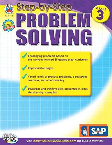 Step-by-Step Problem Solving, Grade 3 (Singapore Math)