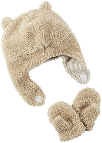 Carter's Baby Boys Winter Hat-glove Sets D08g189, Brown/Tan, 0-9M
