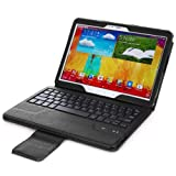 Poetic KeyBook Bluetooth Keyboard Case for Samsung Galaxy Note 10.1 2014 Edition Tablet Black (3 Year Manufacturer Warranty From Poetic)