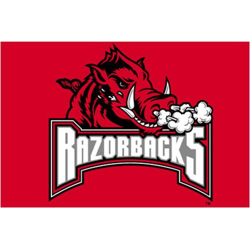 Arkansas Razorbacks NCAA Tufted Rug (20 x30 ) at Amazon.com