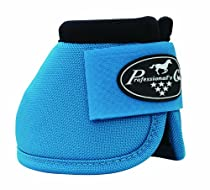 PROFESSIONAL'S CHOICE ? BALLISTIC NO TURN OVERREACH BELL BOOTS ? ALL COLORS & SIZES (Pacific Blue, Medium)
