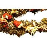 """Weihnachtsgirlande """"Wichtelweihnacht"""" 270cm"""