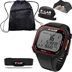Buy Polar RC3 GPS Sports Heart Rate Monitor - Bike with Cinch Bag by Polar