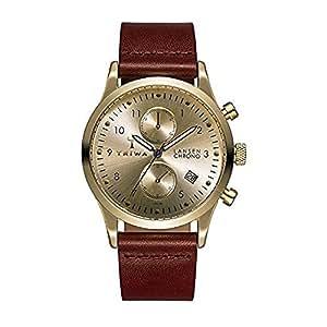Triwa Gold Lansen Chrono Unisex Watch Cognac