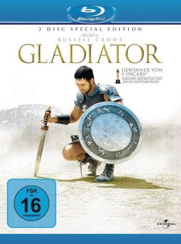 Gladiator 2-Disc Extended Edition Blu-Ray Movie