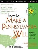 How to Make a Pennsylvania Will, 2E