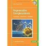 """Regenerative Energiesysteme: Technologie - Berechnung - Simulationvon """"Volker Quaschning"""""""