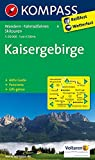 Kaisergebirge: Wanderkarte mit Aktiv Guide, Panorama, Radwegen und Skitouren. GPS-genau. 1:50000 (KOMPASS-Wanderkarten, Band 9)