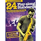 24 Play Along Standards Alto Sax 2 CD