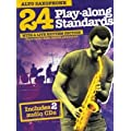 24 Play-Along Standards With Live Rhythm Section Alto Sax Bk/2Cd Asax