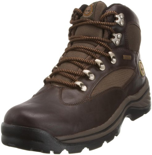 Timberland Men's Chocorua Trail Mid GTX Brown with Green Hiking Boot 15130 6.5 UK
