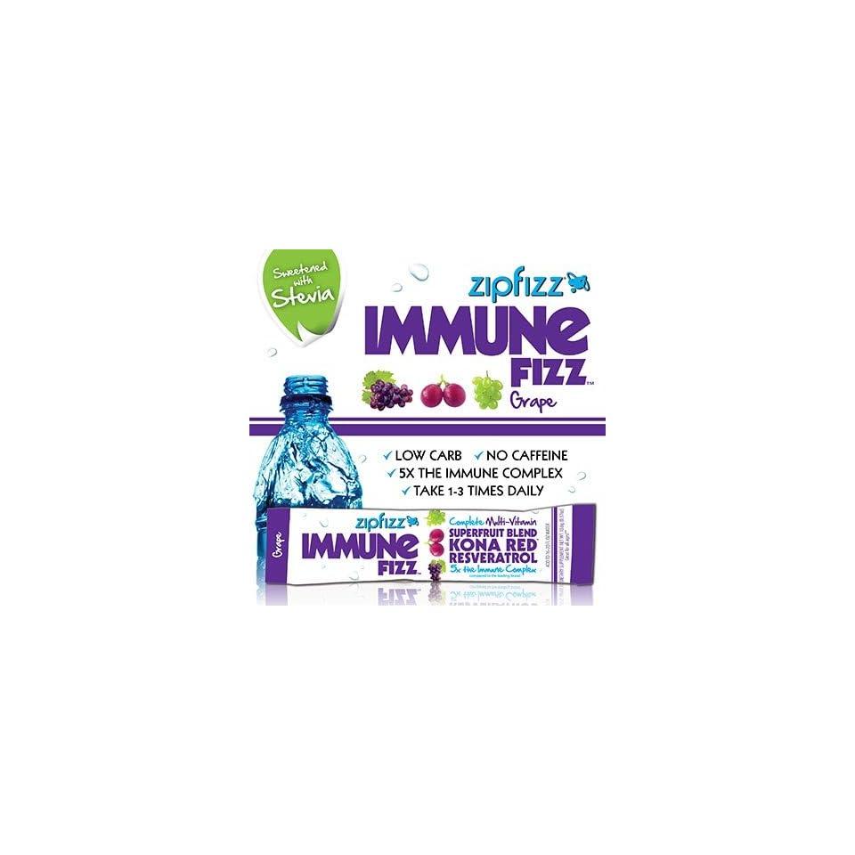 Zipfizz Immune Fizz All Natural Support Multi Vitamin Powder