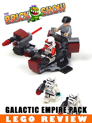 LEGO Star Wars Battlefront Galactic Empire Battle Pack Review (75134)