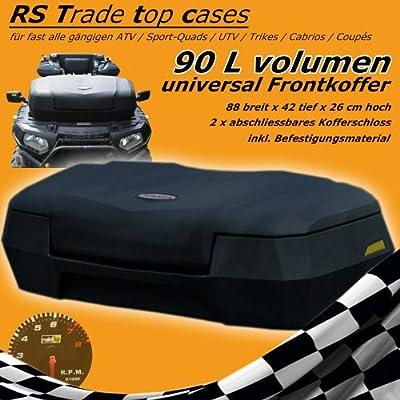 90 Liter Quad - ATV & Trike Universal Front Transport Koffer aus hochwertigem Kunststoff, inkl. Sicherheitsschlößer, Montagematerial von Unbekannt - Gartenmöbel von Du und Dein Garten