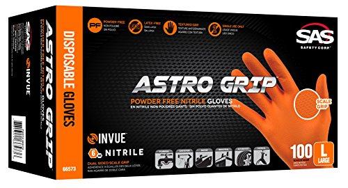 Astro Grip PF Nitrile - 6 mil - M - 100