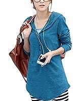 DJT chandail à capuche top à manches longues femme Taille S-XXL EU36-44
