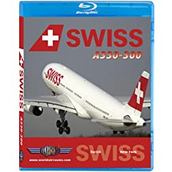 Swiss Airbus A330-300 to New York JFK [Blu-ray]