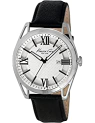 Kenneth Cole Classic Analog Silver Dial Men's Watch - IKC8072