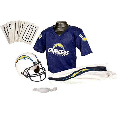 San Diego Chargers Colors: Franklin Sports NFL San Diego Chargers Deluxe Youth