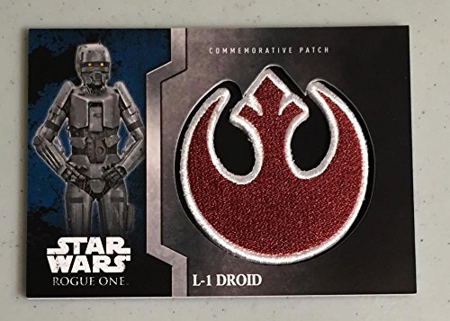 MultiSport MultiSport 2016 Topps Star Wars Rogue One Commemorative Patch #3 L-1 Droid NM Near Mint