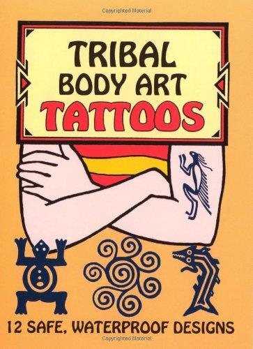 Tribal Body Art Tattoos (Temporary Tattoos)