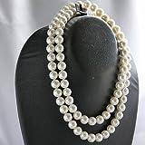 花珠級 天然貝核 貝パール定番ネックレスセット 10mm大粒真珠42cm ホワイト ピアス