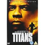Remember the Titans [Region 2] ~ Denzel Washington