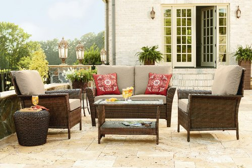 Ty Pennington Style Parkside 4 Piece Deep Seating Set photo