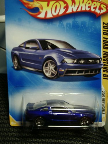 Hot Wheels 2010 Ford Mustang GT #41/42 1:64 Scale Collectible Die Cast Car - 1