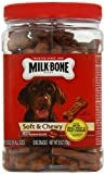 Milk Bone Beef and Filet Mignon Recipe, Soft and Chewy, 25 Ounce